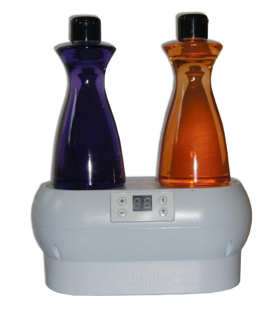 la chauffe pour avoir une vraie huile de massage. Black Bedroom Furniture Sets. Home Design Ideas